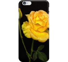 Yellow Rose and Bud iPhone Case/Skin