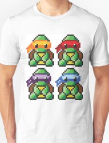 Teenage Mutant Ninja Turtles Pixel Art Unisex T-Shirt