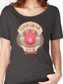 Pokemon - Cinnabar City Gym 'Feel the Burn' Women's Relaxed Fit T-Shirt