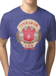 Pokemon - Cinnabar City Gym 'Feel the Burn' Tri-blend T-Shirt