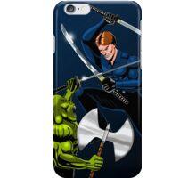 Jacob Fights a Reptilian iPhone Case/Skin