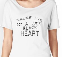 'Cause I've Got A Jet Black  Women's Relaxed Fit T-Shirt