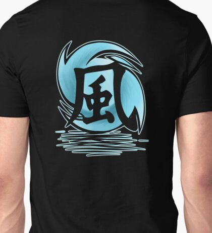 Wind Temple Symbol V3 Transparent Unisex T-Shirt