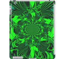 Psychedelic Green Gateway iPad Case/Skin