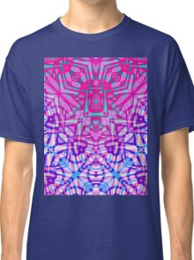 Fractal Art Stained Glass Classic T-Shirt