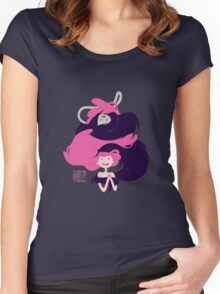 Marceline and Princess Bubblegum Hug Women's Fitted Scoop T-Shirt