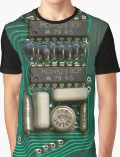 Circuit - recycling old electronics Graphic T-Shirt