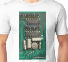 Circuit - recycling old electronics Unisex T-Shirt