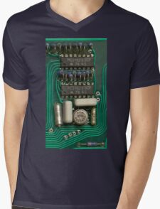 Circuit - recycling old electronics Mens V-Neck T-Shirt