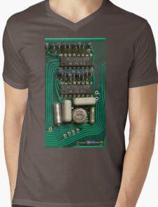 Circuit - recycling old electronics Mens V-Neck T-Shirt