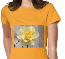 Layered Daffodil  Womens Fitted T-Shirt