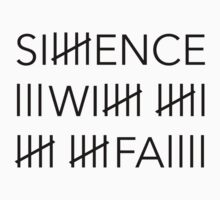 Silence Will Fall - Tally-Marked One Piece - Long Sleeve