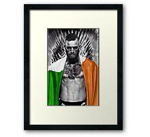 McGregor UFC  Framed Print