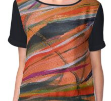 Abstract 1 Digitally Enhanced 1  Chiffon Top