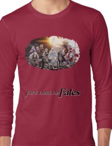 Fire Emblem Fates - Hoshido VS Nohr Long Sleeve T-Shirt