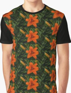 Hot Orange Lily  Graphic T-Shirt