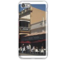Fremantle sidewalk iPhone Case/Skin