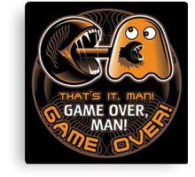 Game Over, Man! Canvas Print