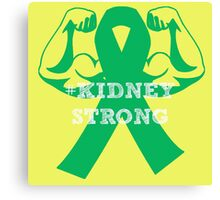 #kidneystrong Canvas Print