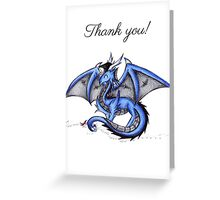 Draconic Grad (Thank You Card) Greeting Card