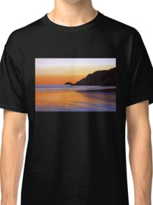 Earth Sunrise Sea Painting Classic T-Shirt