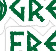 Greek Freak Sticker
