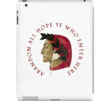 Abandon All Hope - Dante iPad Case/Skin