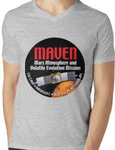 MAVEN Launch Logo Mens V-Neck T-Shirt