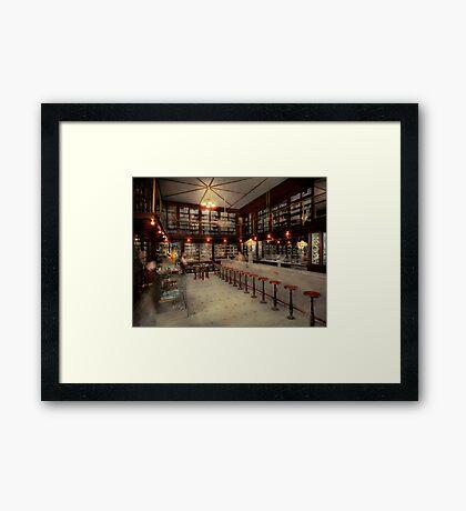 Pharmacy - Bertrams ghosts 1909 Framed Print