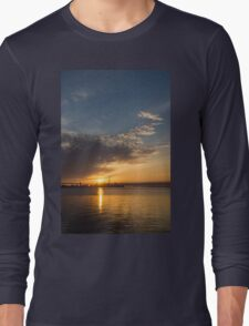 Good Morning, Toronto with a Glorious Sunrise Long Sleeve T-Shirt