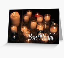 Bon Nadal - Catalan Christmas Card Greeting Card