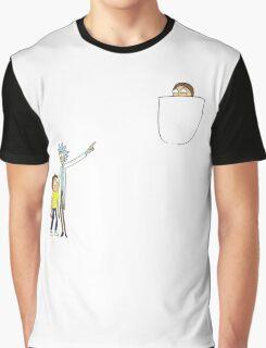 Pocket Morty Graphic T-Shirt