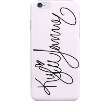 Kylie Jenner Signature iPhone Case/Skin