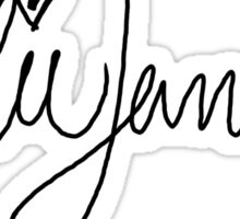 Kylie Jenner Signature Sticker