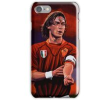 Francesco Totti painting iPhone Case/Skin