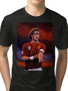 Francesco Totti painting Tri-blend T-Shirt