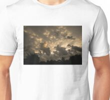 Extraordinary Mammatus Clouds At Sunset Unisex T-Shirt