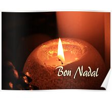 Bon Nadal - Catalan Christmas Card Poster