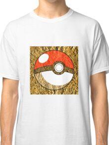 Pokeball Gold Design (T-shirt, Phone Case & more)  Classic T-Shirt