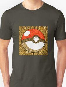 Pokeball Gold Design (T-shirt, Phone Case & more)  Unisex T-Shirt