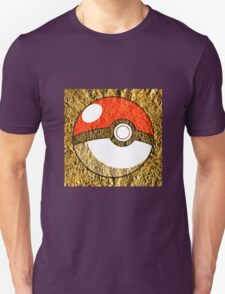 Pokeball Gold Design (T-shirt, Phone Case & more)  T-Shirt