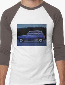 Renault 4 Painting Men's Baseball ¾ T-Shirt