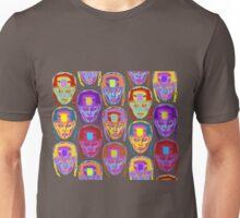 Roller Derby Girl Pattern Unisex T-Shirt