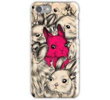 BUNNIES GALORE! iPhone Case/Skin
