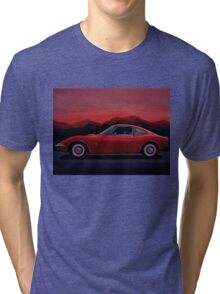 Opel GT Painting Tri-blend T-Shirt