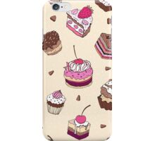 Yummy colorful Cupcakes iPhone Case/Skin