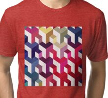 Seamless abstract pattern Tri-blend T-Shirt