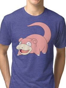 Pokemon - Slowpoke Tri-blend T-Shirt