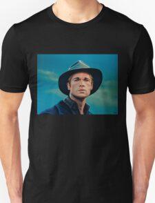 Brad Pitt Painting T-Shirt