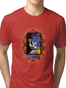 Sonic the hedgehog REMIX Tri-blend T-Shirt